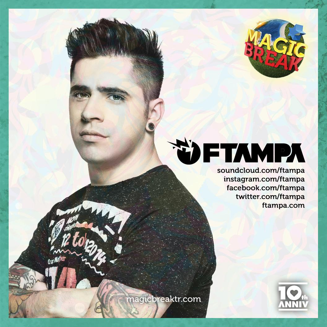 With his vibrant character and brisk sounds, @ftampa is getting ready for an extraordinary show at #MagicBreak http://t.co/6jMMsH1aMN