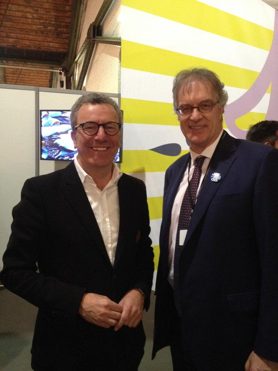 @YvanMayeur et @MichelAudetQC à l'inauguration de la #FoireLivreBruxelles