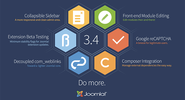 New Joomla 3.4 Release Hits the Market https://t.co/J2NLDPZoEf http://t.co/EXtINGcLHA