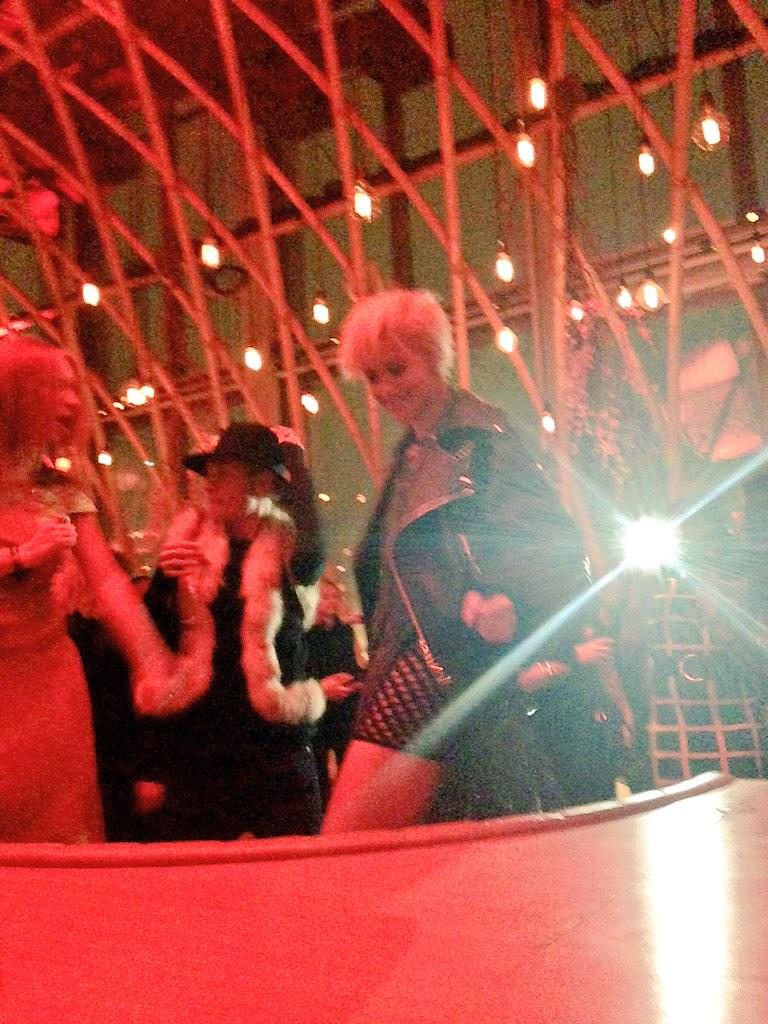 @RitaOra getting down to @MarkRonson Uptown Funk here @SUSHISAMBA for the #BritAward2015 @SonyMusicUK party http://t.co/fu5X4rZ9Hh