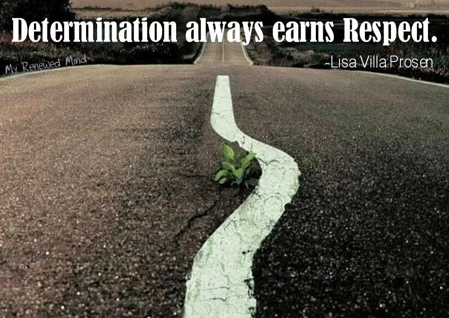 #Maine Determination always earns respect!! #motivation #ME