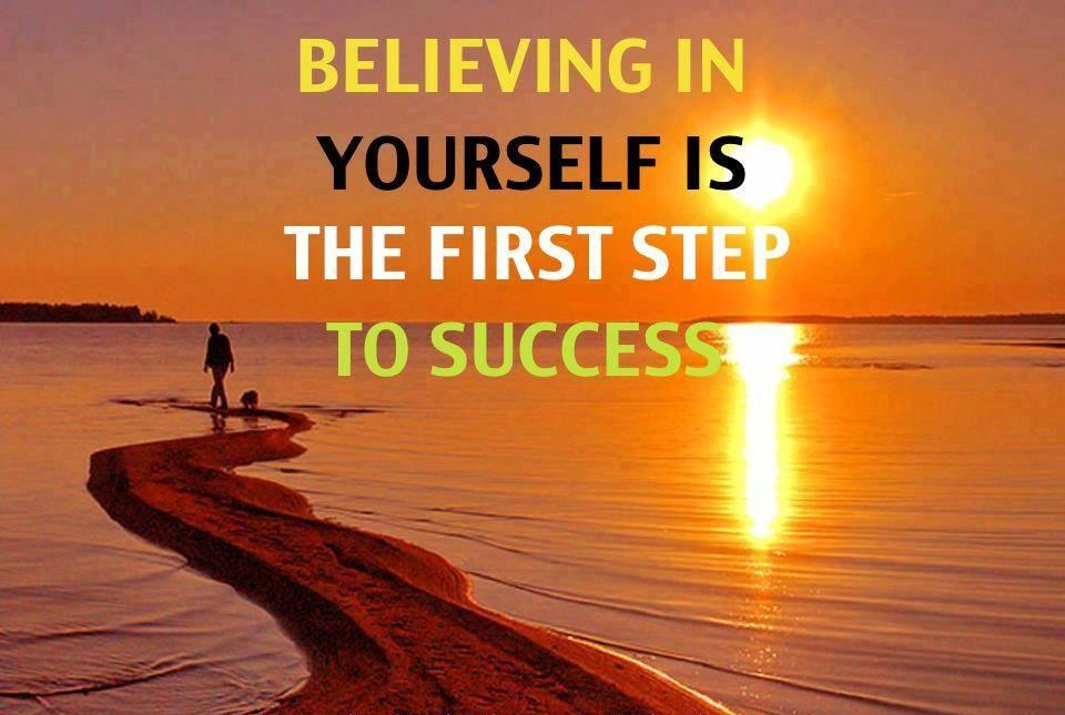 #Maine Believing in yourself is the first step to SUCCESS! #ME