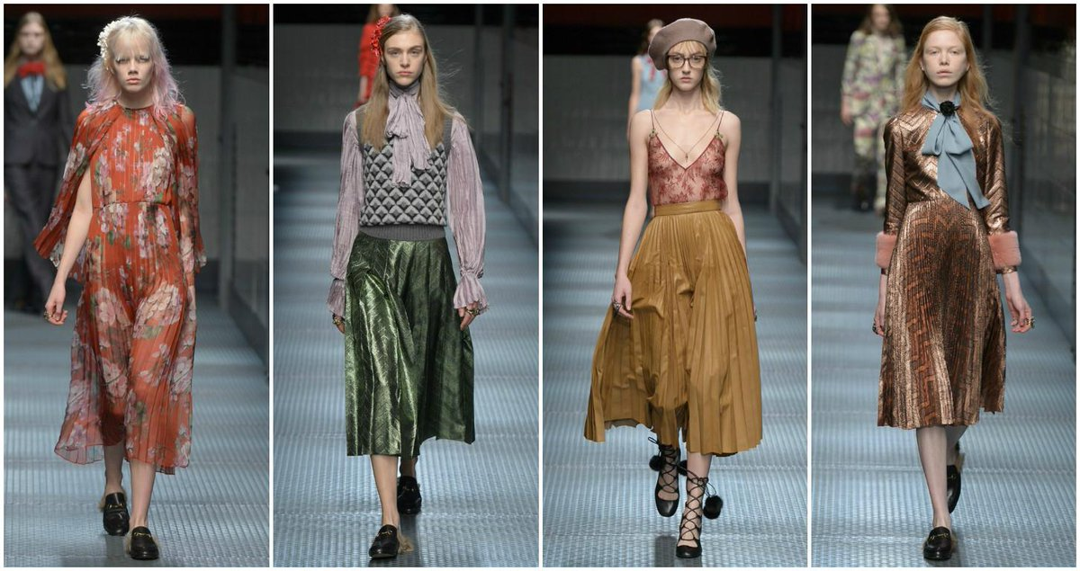 68d792937331 geek chic at gucci under new creative director alessandro michele what do  you think of this