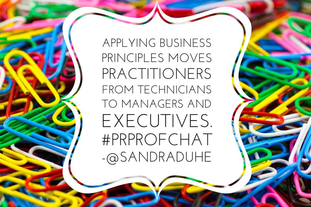 Thumbnail for #PRProfChat Business Principles