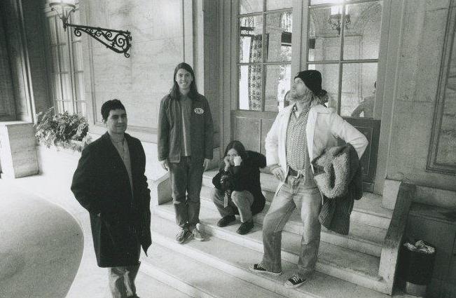 Pat Smear Kurt Cobain
