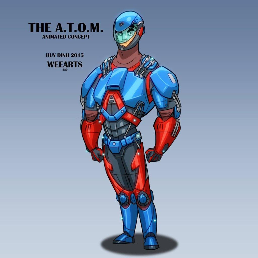 the atom The atom exosuit (advanced technology operating mechanism), officially designated omac by queen consolidated, is an exosuit designed by ray palmer it was used by ray in his exploits as a vigilante around starling city as the atom.