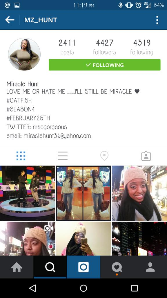 #Catfish is staged. It's official. She's a promo model. Idk why folks bought in to it after the first season. http://t.co/DSqZYYIVUA
