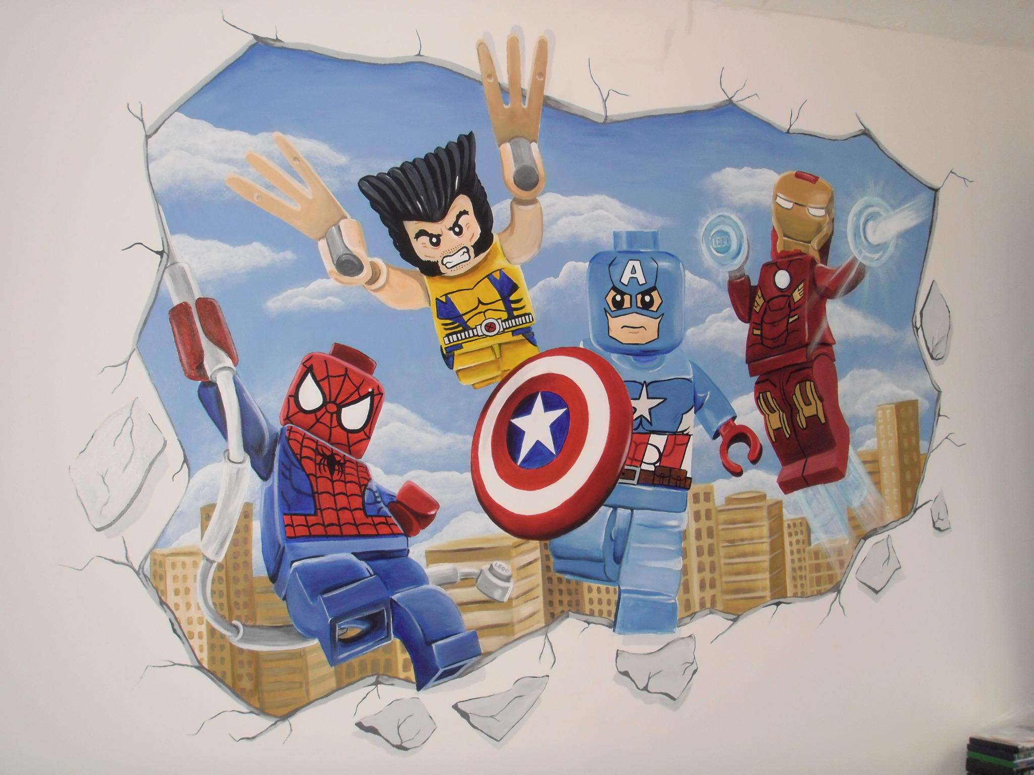 love my sons wall mural can 39 t get him out of his bedroom now xx. Black Bedroom Furniture Sets. Home Design Ideas