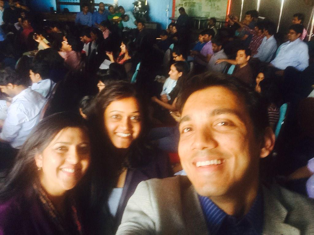 At social media week with @meenamac! #SMWbangalore #SMW2015 http://t.co/kXhyu81s74