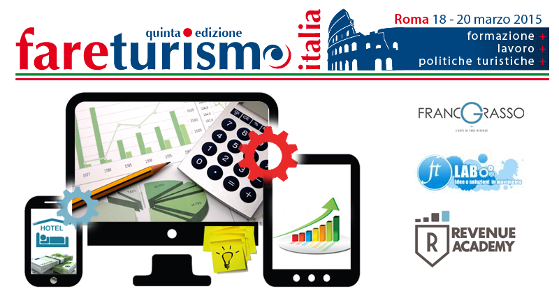 Web Marketing per Hotel e Revenue, ne parleremo il 19 marzo a  @FareTurismo a Roma.. #savethedate http://t.co/CBaUxNyhWq""