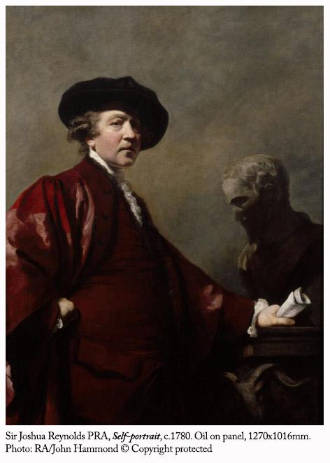 1768: #JoshuaReynolds is London's most famous artist. Architect William Chambers asks the king for an arts society... http://t.co/rGG7YsoKsG