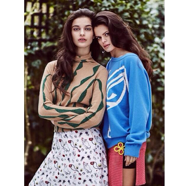RT @StormModels: Sassy #sisters #BipLing & #EvangelineLing wear their mums art on their sleeves in @TeenVogue! #EmmaTempest http://t.co/o8Y…