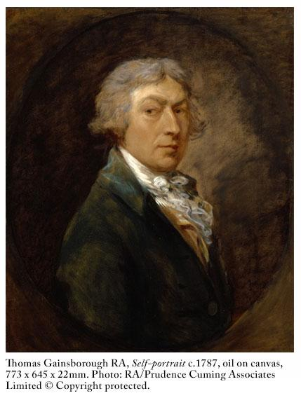 """#JoshuaReynolds fought for space – and commissions – against a fellow member (or """"Academician""""), Thomas Gainsborough http://t.co/1rqnti60U2"""