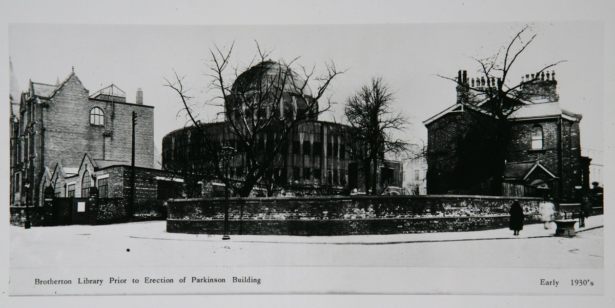 """@UoLLibrary: The Brotherton Library before the Parkinson building was erected #TBT http://t.co/Myoc7BwzGo"" WOW"