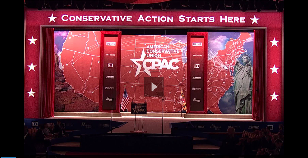 Thumbnail for VIDEO from C-SPAN of CPAC 2015