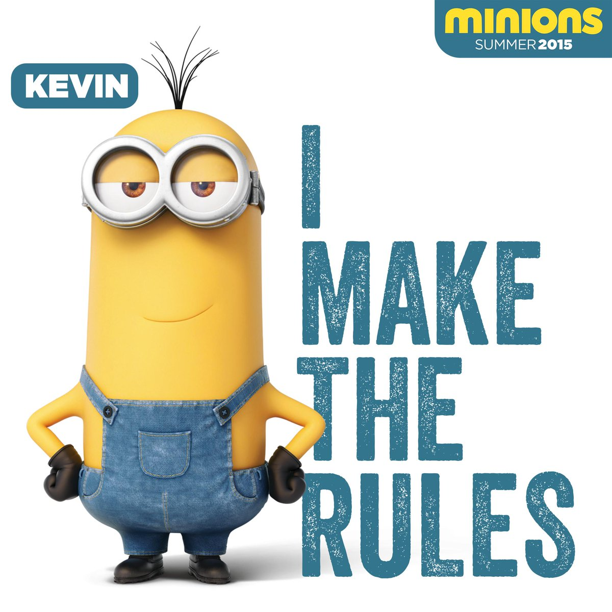 Minions on twitter i make the rules kevin minions - Image minions ...