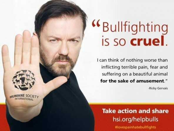 "End this cruelty! ""@I_Luf_My_Pet: Bullfighting is so cruel!! #bullfighting #animalrights #bulls http://t.co/52uxgfeTsv"""