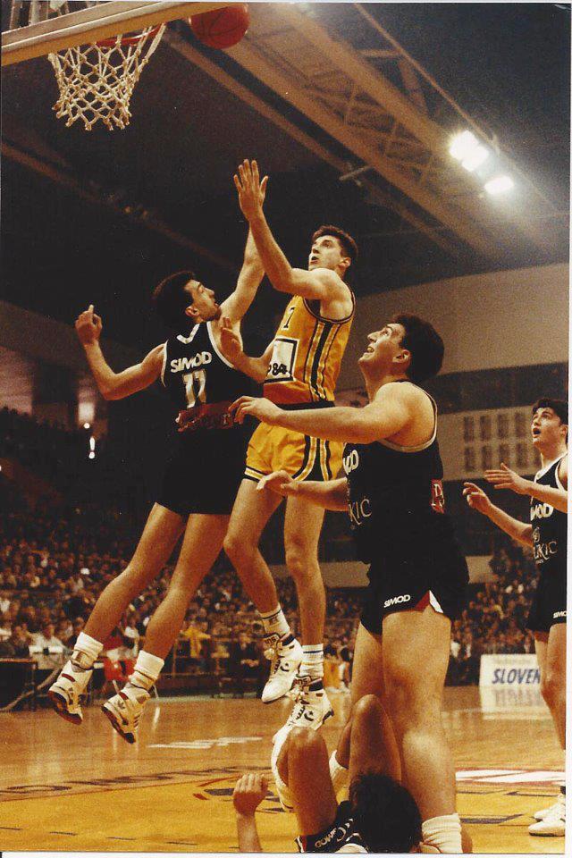 """Ex Yu Basketball on Twitter: """"Jugoplastika - Partizan 1991. Toni ..."""