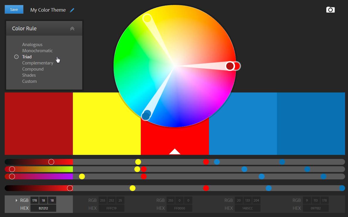 On Twitter Protip Use A Color Wheel Or Color Scheme