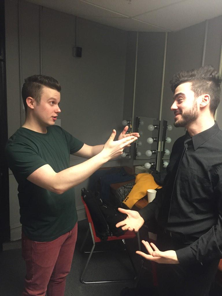 Some preshow advice from a YJ alum in @ExchangeVocal! #SingOffTour http://t.co/lN3h25KKwh