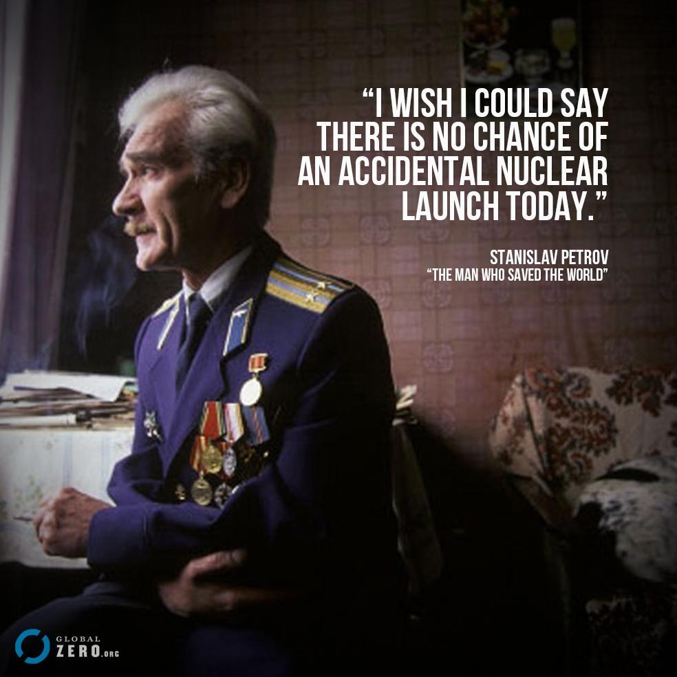 Soviet Officer Who Saved The World Ago a Soviet Officer Saved