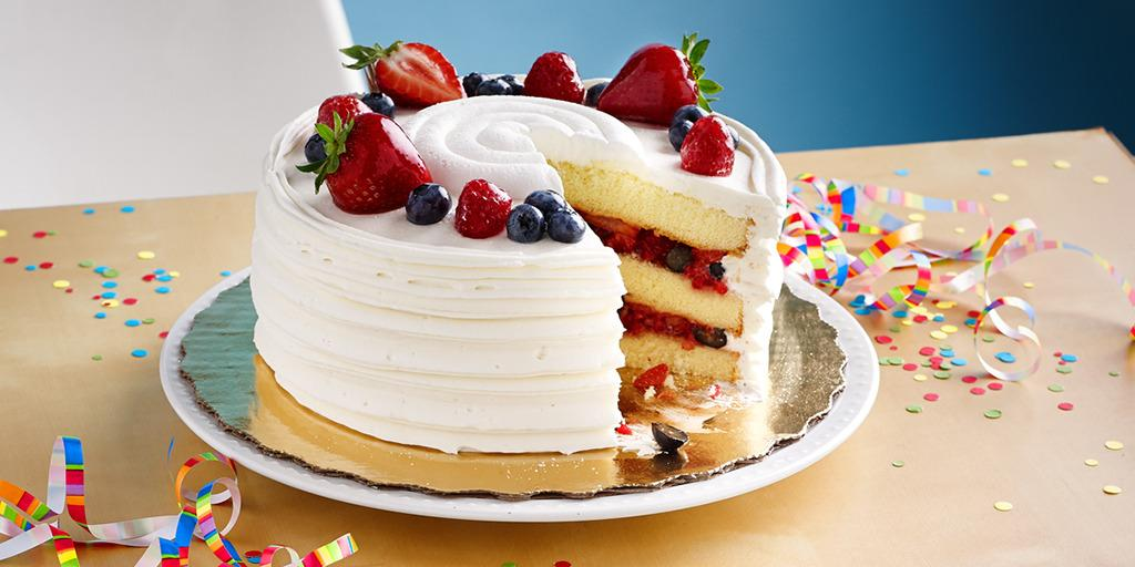 Publix Fruit Chantilly Cake
