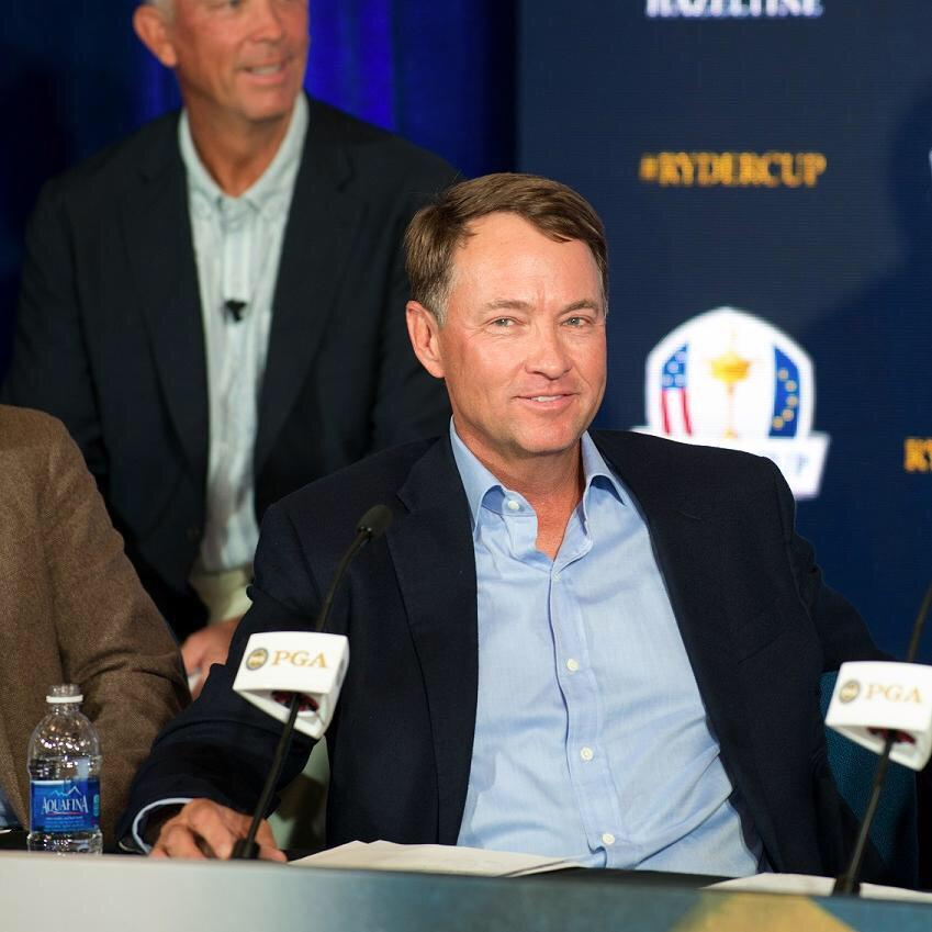 Honored to serve as the 2016 @RyderCupUSA Captain. Excited about Hazeltine and trying to win back the Ryder Cup! http://t.co/sKUtHEjnBR