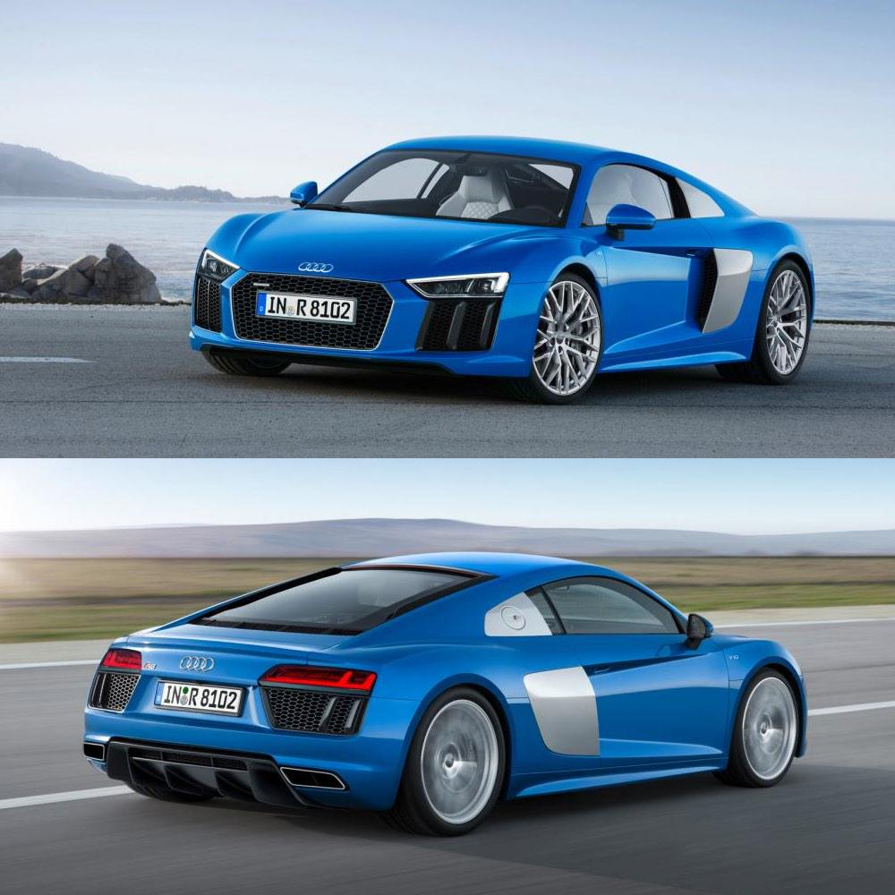 """Audi R8: Ali-A On Twitter: """"So This Is What The New 2015 Audi R8"""
