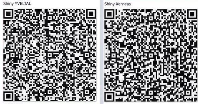 Pokemon Qr Codes On Twitter Quot Qr Code Shiny Yveltal And