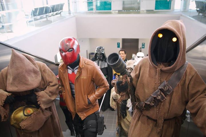 Things are getting intergalactic this week at @flypensacola: http://t.co/YxnGfJhALI #Pensacon http://t.co/lkClM7YqRT