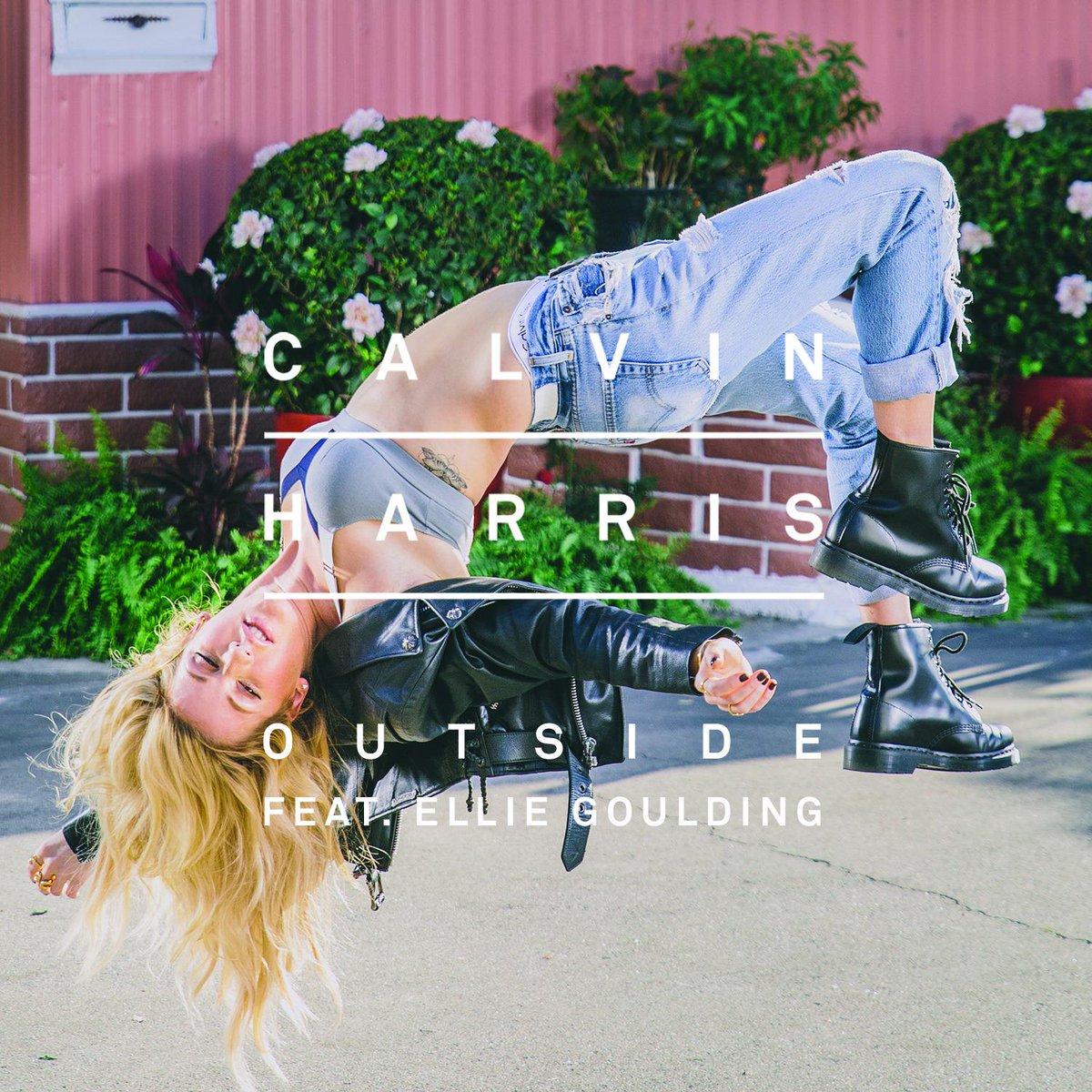 Colaboración » ''Outside'' (Calvin Harris feat. Ellie Goulding) [#1GER/FIN #3SWE #5IRE #6UK #7AUS/NZ #10CAN/WW #11ESP  #19FRN #29USA] B-znc4yWsAA31qM
