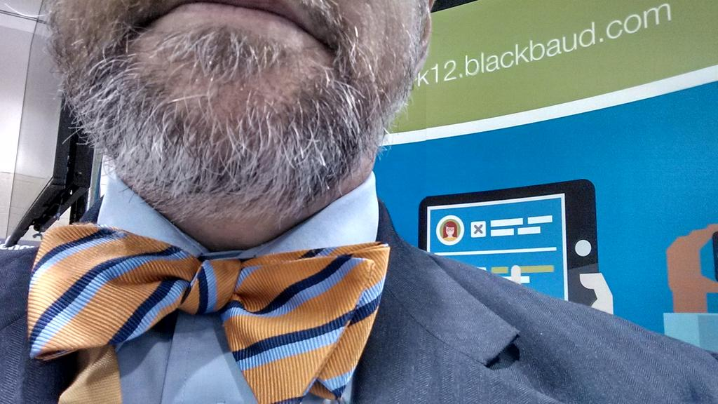Loving the bowtie to attendee ratio at NAIS! #naisac http://t.co/KN9tPijGEM