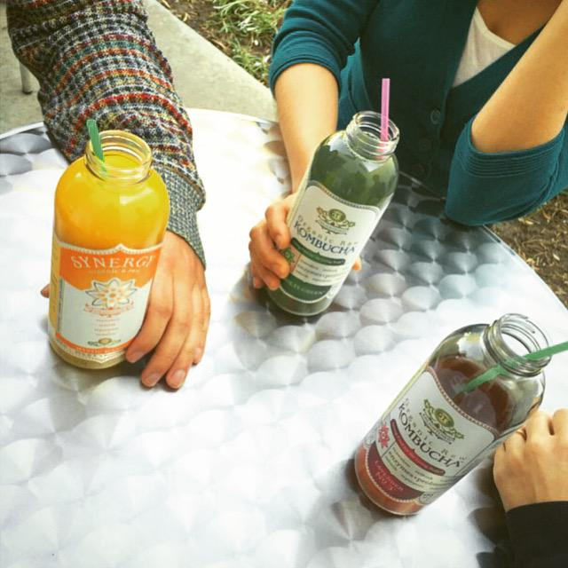 Here's to connecting through the original kind of social networking :-) #connect #rediscover #Kombucha http://t.co/dhdKUoXkBy