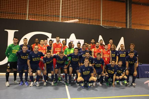 """Apuestas de Murcia"" has become one of the official sponsors of UCAM´s basketball and football teams http://t.co/QUW6MtSS33"
