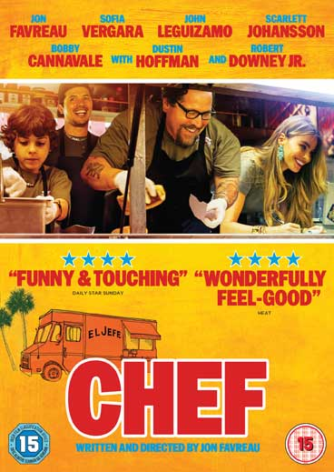 #WIN a copy of fun new foodie film #ChefDVDdeli starring Jon Favreau and Scarlett Johansson. RT to enter http://t.co/jbf8WsyyUb