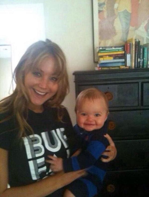 Jennifer Lawrence Holding Baby PerksOfBeingAFanboy. o...
