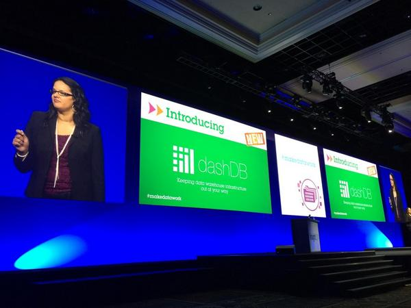 #IBMInsight IM keynote, #dashdb keeps data warehouse infrastructure out of your way http://t.co/kDdFh8WbqE http://t.co/nIkkmU86Bk