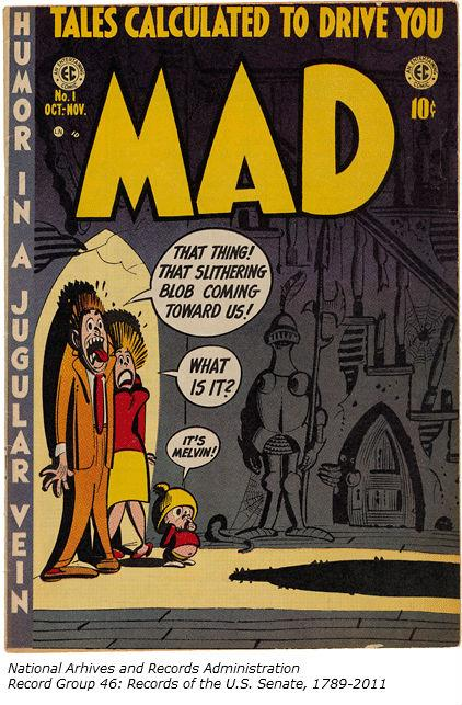 Don't let your ?s drive you mad! #AskAnArchivist tomorrow! (Eg., Why is this comic part of #Senate records?) http://t.co/Cn9hYm5pAB