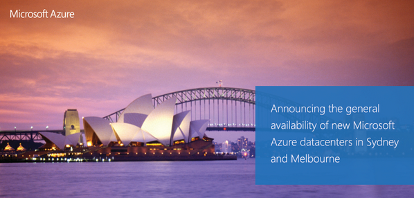 AZURE - Azure Data Centers in Melbourne & Sydney