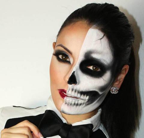 Sexy halloween makeup looks