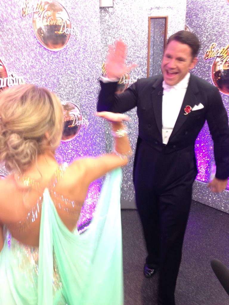 "RT @clarabell1477: ""@bbcstrictly: @SteveBackshall ""class!"" @The_OlaJordan ""I'm so proud. He did such a good job!"" #scd http://t.co/r4abppGA…"