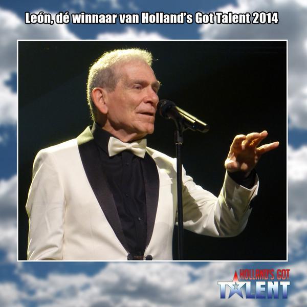 #Leon is de absolute winnaar van Holland's Got Talent 2014! #HGT http://t.co/fT8OzXnSDQ