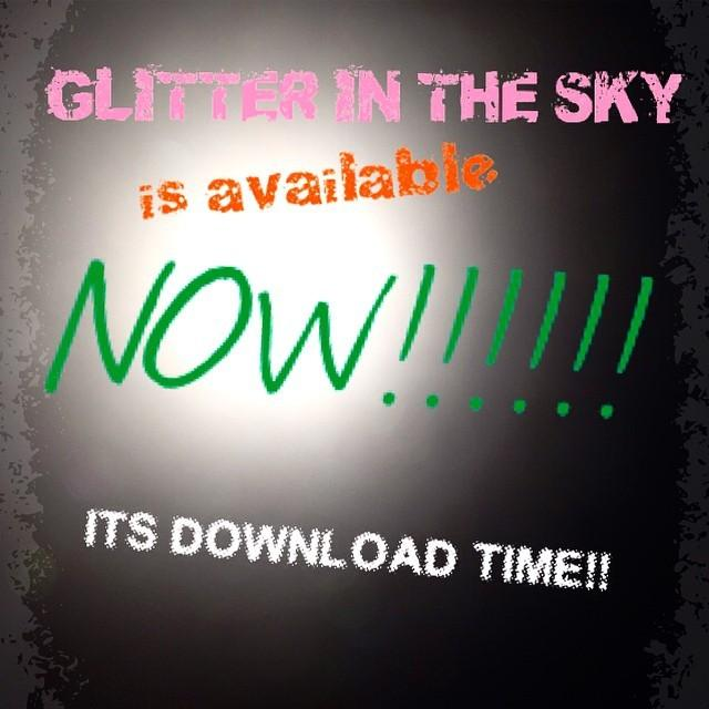 Out this week! My new single #GlitterInTheSky on ♫iTunes http://t.co/qlEX0vAVOG http://t.co/6UCfaeETu8