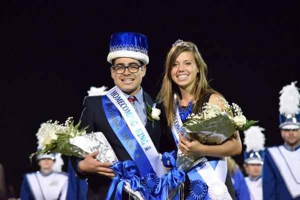 Emilio Marmol and Allie Hackbarth are the 2014 Homecoming King and Queen http://t.co/QFGwWEDuwd