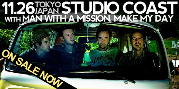 #ToKYO! Tix for our show @ #StudioCoast on 11/26 w/ @mwamjapan + @MAKEMYDAYjp are on sale NOW: http://t.co/kuHMT8gHUi http://t.co/lrZZy9TvGB
