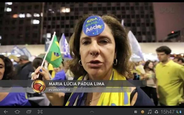 """Muito bom! A economista indecisa que Dilma no debate mandou estudar no Senai já se decidiu.. #AgoraÉAecio45Confirma  http://t.co/Wxev8dZ50g"""""""