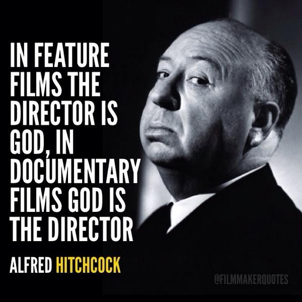Film Director Quotes On Twitter In Feature Films The Director Is