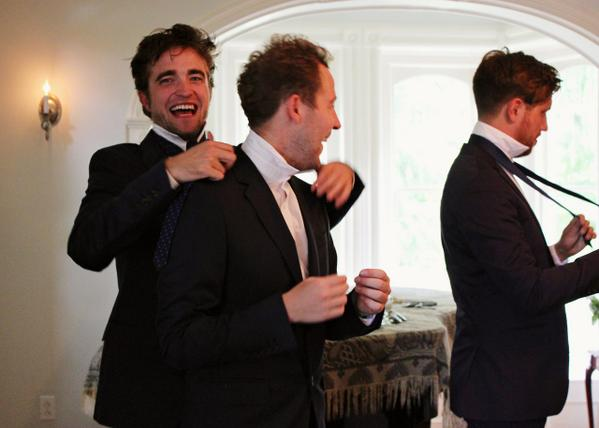 New/Old Pictures of Rob at Bobby Long's Wedding http://t.co/tBru3ytlEt http://t.co/xM9YaT6HJN
