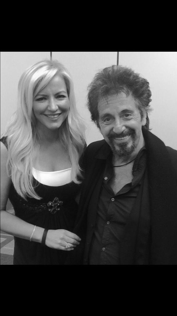 One of the best days of my life,with Al Pacino.Nailed the biggest speech of my career in US.Celebrate #LosAngeles http://t.co/7032dOf5lO
