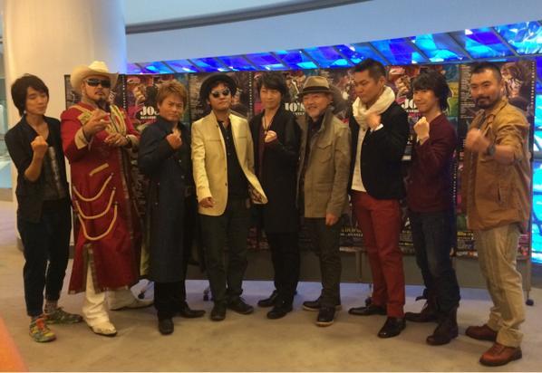 本日のイベントは全て終了ッ!皆様、ありがとうございました!メルシーボークー ご来場、恐縮のいたり… #jojo_anime WB寺 pic.twitter.com/amgXQeY8kk